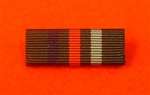 Voluntary Service Commemorative Medal Ribbon Bar Pin