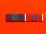 General Service Medal Pre 1962 Queens Coronation Medal 1953 Medal Ribbon Bar Pin Type