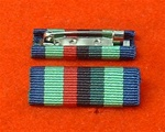 Royal Ulster Constabulary Service Medal Ribbon Bar Pin RUC Post 2001