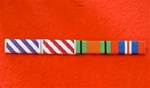 Distinguished Flying Cross post 1919 Air Force Cross post 1919 Defence & War Medal Ribbon Bar Pin