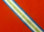 Full Size Falklands Medal Ribbon South Atlantic Ribbon