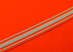 8'' Full Size Coast Guards Auxiliary Long Service Medal Ribbon