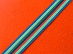 Full Size Royal Ulster Constabulary Service Medal Ribbon