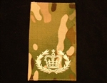 Quality Ivory RQMC Muticam Rank Slide ( Warrant Officer Class 2 RQ Multi Terrain Pattern Combat Rank Slide ) WO2 MTP Rank Slide