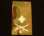 Quality Ivory Colonel Muticam Rank Slide ( Brig Multi Terrain Pattern