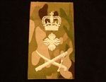 Quality Ivory General Muticam Rank Slide ( lt gen Multi Terrain Pattern