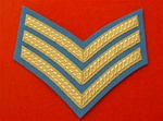 SGT Army Air Corps Number 1 Dress Chevrons