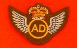 Air Dispatch Uniform Badge ( AD Badge )