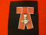 MBE Mounted On Ladies Bow