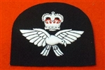 Quality RAF White Embroidered Blazer Badge