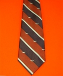 Quality RAF Striped Albatross Tie ( RAF Crest Motif Tie ) Royal Air Force Tie