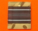 Quality UBACS RAF Officers Squadron Leader Velcroed Rank Patch ( SQN LDR Velcroed Rank Patch )