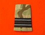 RAF Flight Lieutenant Multicam Combat Rank Slide ( FL LT Multi Terrain Pattern Rank Slide ) FL LT MTP Combat Slide