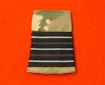 RAF Wing Commander Multicam Combat Rank Slide ( WC Multi Terrain Pattern Rank Slide ) Wing Commander MTP Combat Slide