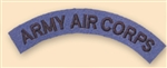 Re-Enactors Army Air Corps Shoulder Title ( Reenactors AAC Badges )
