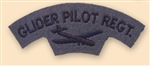 Re-Enactors Glider Pilot Shoulder Title ( Reenactors GPR Badges )