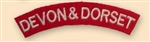 Deven & Dorset Uniform Shoulder Titles