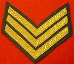 RAF Sergeant Chevrons Mess Dress