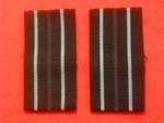 RAF Flight Lieutenant Greatcoat Rank Slides (  RAF FL LT Greatcoat Rank Slides )
