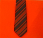Royal Engineers Corps Regimental Polyester Tie.