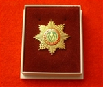 Quality The Cheshire Regiment Boxed Lapel Badge ( TCR Boxed Lapel Badge )