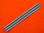 14cm Miniature National Service medal Ribbon