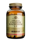 Solgar Chelated Calcium Magnesium 1:1 Tablets 120