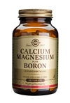 Solgar Calcium Magnesium Plus Boron Tablets 100