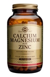 Solgar Calcium Magnesium Plus Zinc Tablets 250