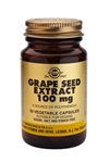 Solgar Grape Seed Extract 100 mg Vegetable Capsules 30