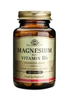 Solgar Magnesium with Vitamin B6 Tablets 100