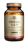 Solgar Omega 3-6-9 Fish, Flax, Borage Softgels 60