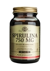Solgar Spirulina 750 mg Tablets 100
