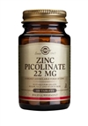 Solgar Zinc Picolinate 22 mg Tablets 100