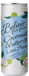 BELVOIR COCONUT WATER & LIME PRESSE CAN 250ML