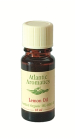 Atlantic Aromatics Lemon Oil Organic 10ml