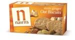 Nairns Stem Ginger Oat Biscuits Wheat Free 200G