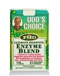 Udo's Choice Choice Enzyme Blend Travel Pack 21Cap