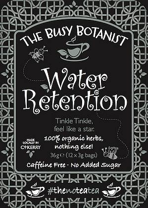 The Busy Botanist Water Retention Tea 12 Bags