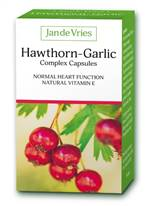 Jan De Vries Hawthorn Garlic Complex 90 Caps