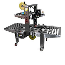 Eagle T210SS STAINLESS STEEL Top/Bottom Belt Case Sealer