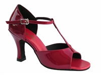 Style 1609 Red Patent - Women's Dance Shoes | Blue Moon Ballroom Dance Supply