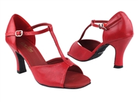 Style 1609 Red Snake - Women's Dance Shoes | Blue Moon Ballroom Dance Supply