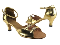 Style 1620 Gold Leather - Women's Dance Shoes | Blue Moon Ballroom Dance Supply