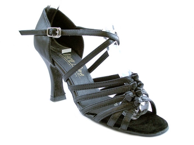 Style 1650 Black Leather - Women's Dance Shoes | Blue Moon Ballroom Dance Supply