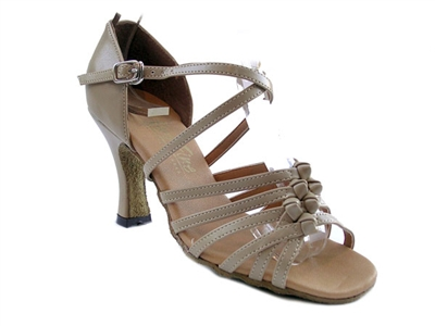 Style 1650 Tan Leather - Women's Dance Shoes | Blue Moon Ballroom Dance Supply