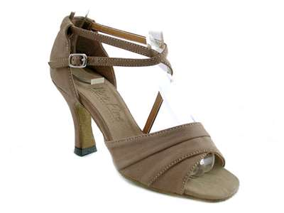 Style 1659 Brown Nubuck - Women's Dance Shoes | Blue Moon Ballroom Dance Supply