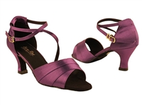 Style 1659 Violet Satin - Women's Dance Shoes | Blue Moon Ballroom Dance Supply