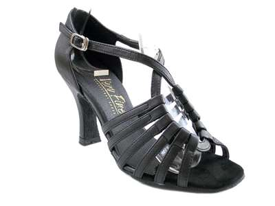 Style 1661 Black Leather - Women's Dance Shoes | Blue Moon Ballroom Dance Supply