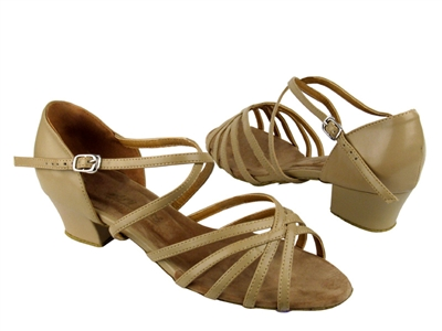 Style 1670C Tan Leather Cuban Heel